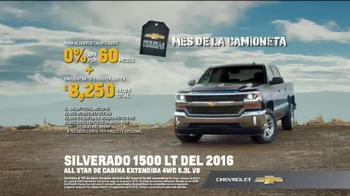 2016 Chevrolet Silverado 1500 TV Spot, 'Capacidad de remolque' [Spanish] - Thumbnail 7