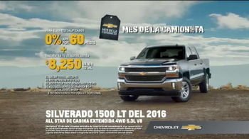 2016 Chevrolet Silverado 1500 TV Spot, 'Capacidad de remolque' [Spanish] - Thumbnail 8