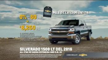 2016 Chevrolet Silverado 1500 TV Spot, 'Capacidad de remolque' [Spanish] - Thumbnail 9