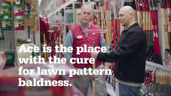 ACE Hardware TV Spot, 'Lawn Pattern Baldness'