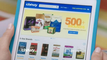 Chewy.com TV Spot, 'Blown Away' - Thumbnail 1
