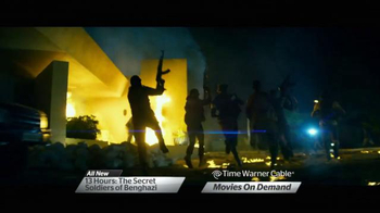 Time Warner Cable TV Spot, '13 Hours: The Secret Soldiers of Benghazi'