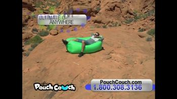 Pouch Couch TV Spot, 'Comfort Anywhere'
