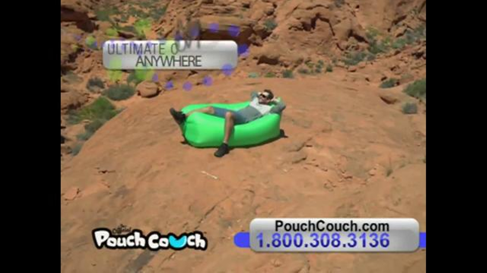 Pouch Couch Tv Commercial Comfort Anywhere Ispot Tv