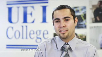 UEI College TV Spot, 'Ricardo: Why UEI College Is Special to Me'