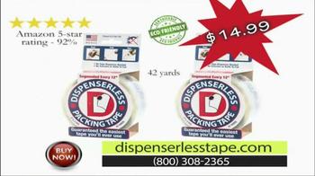 Dispenserless Tape TV Spot, 'The End Is Obvious' - Thumbnail 4