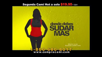 Hot Shapers Cami Hot TV Spot, 'Tiempo de sudar' [Spanish]