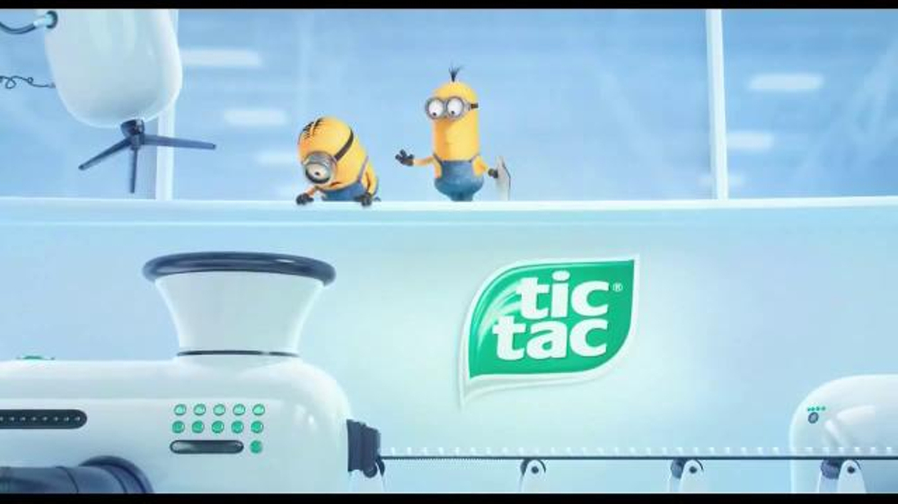 Tic Tac Minions TV Commercial, 'Minions in the Factory'
