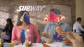 Subway TV Spot, 'Finding Dory: Peek Into Dory's World' - 1175 commercial airings