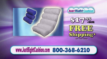 Just Right Cushion TV Spot, 'Proper Support' - Thumbnail 9