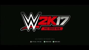 WWE 2K17 TV Spot, 'Pre-Order Trailer' Featuring Bill Goldberg - Thumbnail 10
