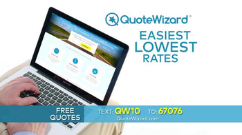 Quote Wizard TV Spot, 'Compare Car Insurance Quotes' - Thumbnail 2