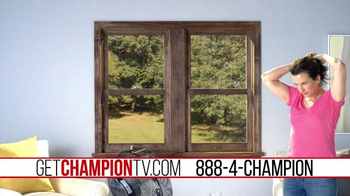Champion Windows TV Spot, 'Summer Heat'