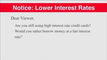 Cheerlending TV Spot, 'Lower Interest Rates' - Thumbnail 1