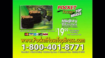 Pocket Hose Top Brass TV Spot, 'Ditch Old-Fashioned' - Thumbnail 10