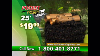 Pocket Hose Top Brass TV Spot, 'Ditch Old-Fashioned' - Thumbnail 8
