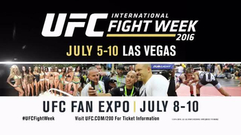 2016 UFC International Fight Week TV Spot, 'Las Vegas Fan Expo'