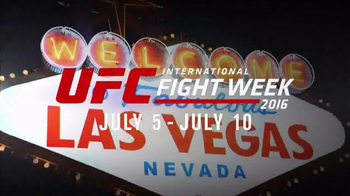 2016 UFC International Fight Week TV Spot, 'Las Vegas Fan Expo' - Thumbnail 2