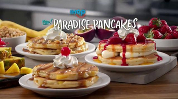 IHOP Paradise Pancakes TV Spot, 'Island Time' - 3899 commercial airings