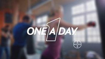 One A Day Advanced Series TV Spot, 'Kickboxing' - Thumbnail 5