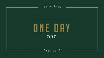 JoS. A. Bank One Day Sale TV Spot, 'Traveler Suits and Sportcoats' - Thumbnail 1