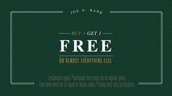 JoS. A. Bank One Day Sale TV Spot, 'Traveler Suits and Sportcoats' - Thumbnail 4