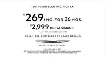 2017 Chrysler Pacifica TV Spot, 'Lazy' Featuring Jim Gaffigan - Thumbnail 8