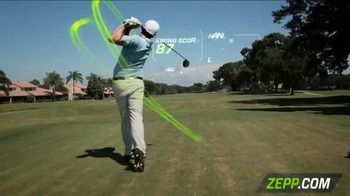 Zepp Golf 2 TV Spot, 'Golf Channel: Swing' Featuring Keegan Bradley - Thumbnail 2
