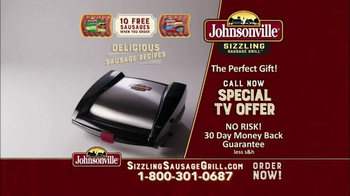 Johnsonville Sizzling Sausage Grill TV Spot, 'No Denying It' - Thumbnail 9