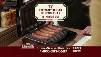 Johnsonville Sizzling Sausage Grill TV Spot, 'No Denying It' - Thumbnail 5
