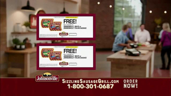 Johnsonville Sizzling Sausage Grill TV Spot, 'No Denying It' - Thumbnail 6
