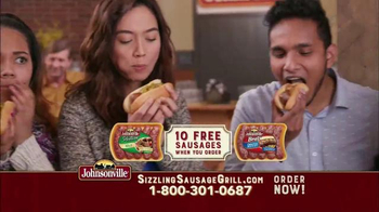 Johnsonville Sizzling Sausage Grill TV Spot, 'No Denying It' - Thumbnail 8