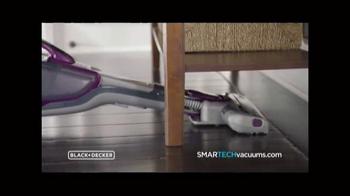 Stanley Black & Decker SMARTECH Cordless 2-in-1 Stick Vacuum TV Spot, 'Busy' - Thumbnail 7