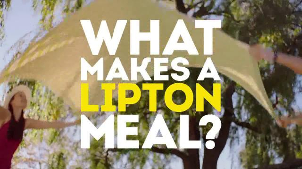 Lipton Iced Tea TV Commercial, 'Picnic: What Makes a Lipton Meal?'