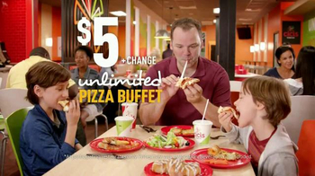 CiCi's Stuffed Crust Pizza TV Spot, 'Out to Lunch' - 6635 commercial airings