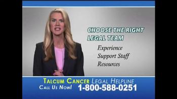 Slack & Davis, LLP TV Spot, 'Talcum Cancer Legal Helpline' - Thumbnail 7