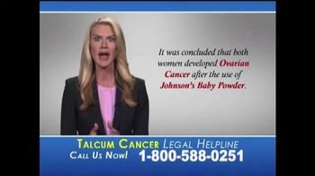 Slack & Davis, LLP TV Spot, 'Talcum Cancer Legal Helpline' - Thumbnail 4