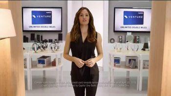 Capital One Venture Card TV Spot, 'The Mall' Featuring Jennifer Garner