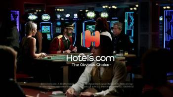 Hotels.com App TV Spot, 'Captain Obvious Hits Las Vegas' - Thumbnail 10
