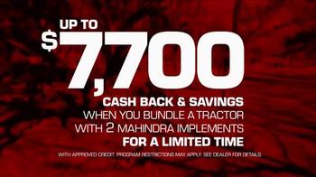 Mahindra 3500 Series TV Spot, 'June 2016 Cash Back' - Thumbnail 5
