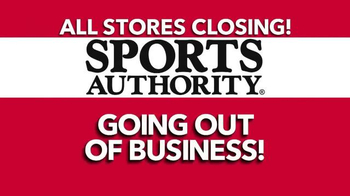 Sports Authority TV Spot, 'Going Out of Business' - Thumbnail 7