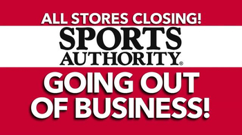 Sports Authority TV Spot, 'Going Out of Business' - Thumbnail 1