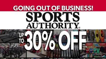 Sports Authority TV Spot, 'Going Out of Business' - Thumbnail 2