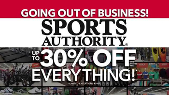 Sports Authority TV Spot, 'Going Out of Business' - Thumbnail 3
