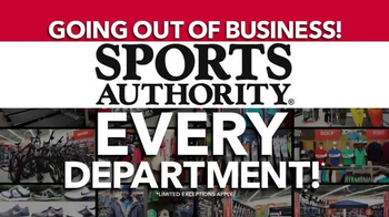 Sports Authority TV Spot, 'Going Out of Business' - Thumbnail 4