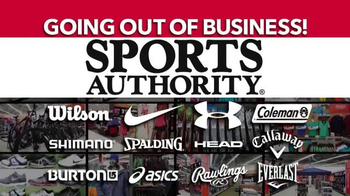 Sports Authority TV Spot, 'Going Out of Business' - Thumbnail 5