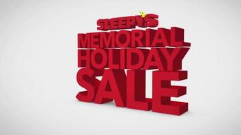 Sleepy's Memorial Holiday Sale TV Spot, 'Final Doorbuster Weekend' - Thumbnail 1