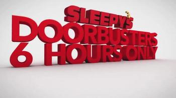 Sleepy's Memorial Holiday Sale TV Spot, 'Final Doorbuster Weekend'