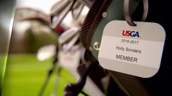 USGA TV Spot, 'Game of a Lifetime' Featuring Holly Sonders - Thumbnail 2