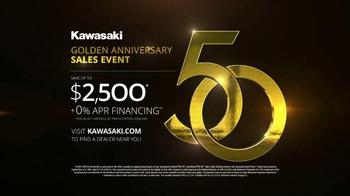 Kawasaki Golden Anniversary Sales Event TV Spot, 'The Company of Legends' - Thumbnail 8